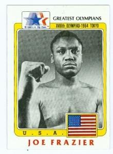 Joe Frazier Boxing Card 1983 Great Olympians #98 ()