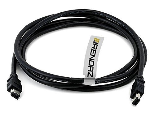 Canon Firewire Cable - BRENDAZ Firewire DV Cable 6P - 6P (IEEE-1394) for Canon XH-A1s HDV, XL H1S, XL H1A, XL-H1, XH-G1 Camcorder, 6-Feet
