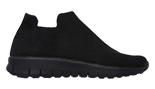 Skechers Womens Bright Idea - Pasha, Walking, Black, M