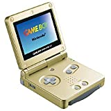 GAME BOY ADVANCE SP- GOLD