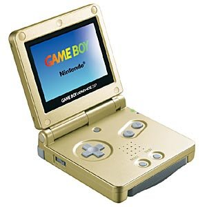 Amazon.com: Game Boy Advance SP - Flame: Video Games