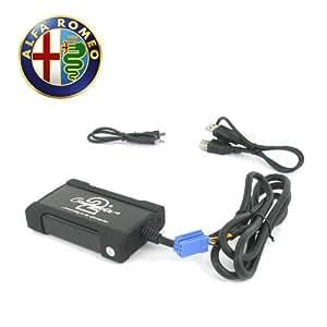Connects2 CTAARUSB001 - Adaptador de USB para Alfa Romeo 156 y 147