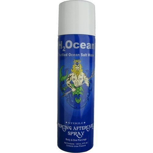 (H2Ocean 4oz Piercing Aftercare Spray)