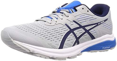 accidente Flexible Noble  Asics Gt-1000 8, Men's Running Shoes, Grey (Mid Grey/Peacoat 020), 11.5 UK  (47 EU): Amazon.co.uk: Shoes & Bags