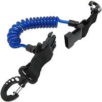 Shark - Cable enrollado con broches y hebillas de r‡pida liberaci—n - Para buceo