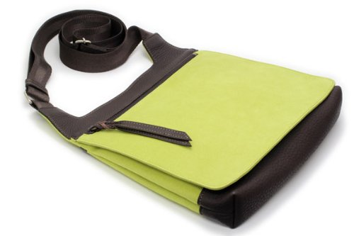 ITOYA Ecsaine Shoulder Bag Large Green by ITOYA