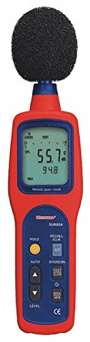 Digital Sound Level Meter,A & C Weighted by WestWard Tools