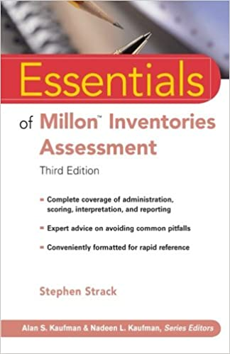 Book Essentials of Millon Inventories Assessment