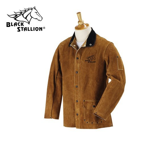 "Revco Black Stallion 30WC 30"" Cowhide Leather Welding Jac..."