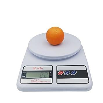 10 kg 1 g báscula digital hogar cocina plataforma peso electrónico equilibrio horno medida alimentos cocina herramientas: Amazon.es: Hogar
