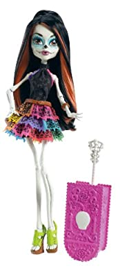 Monster High Travel Scaris Skelita Calaveras Doll