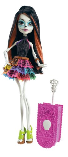 Monster High Travel Scaris Skelita Calaveras Doll (Discontinued by manufacturer)