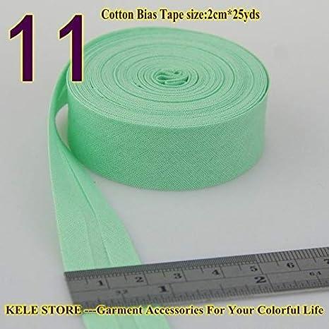Cinta al bies Ochoos 100% de algodón, tamaño de cinta bies: 20 mm ...