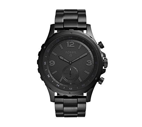Fossil Hybrid Smartwatch – Q Nate Black Stainless Steel
