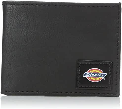 Dickies Men's Slim Fold Wallet with Patch Logo