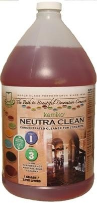 Kemiko Neutra Clean Concentrated Cleaner For Concrete | 1 Gallon