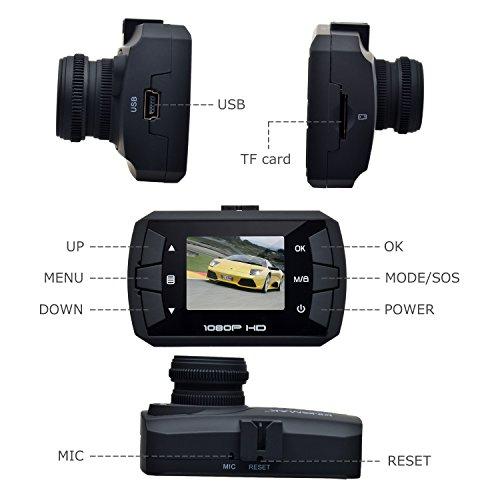 Toguard Mini Full Hd 1080p Car Blackbox Dash Cam Dvr