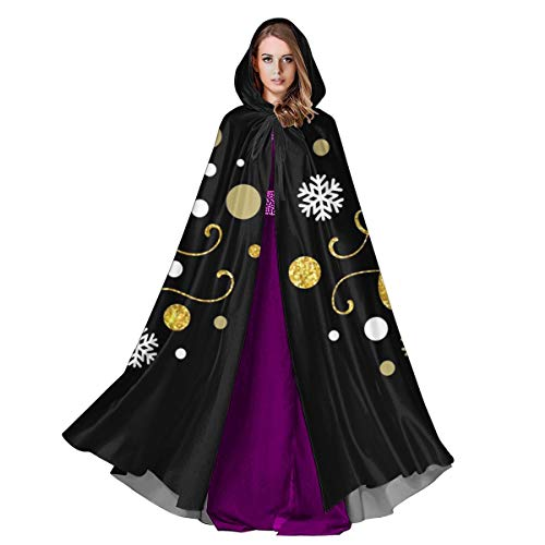 familygam Cloak for Men and Woemn Merry Christmas Gold Glittering Lettering Design. Vector Illustration EPS 10 Cloak Cape