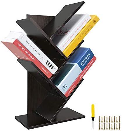 ZZBIQS 5-Shelf Tree Bookshelf