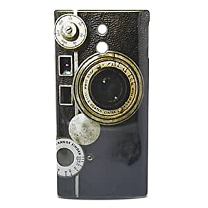 Safety Box Pattern Hard Case for Sony LT22i Xperia P
