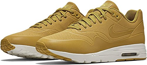 Nike Wmns Air Max 1 Ultra Moire Womens Sneakers Moda 704995-301_5 - Citron Scuro / Citron Brillante / Vela / Citron Scuro, Limone Scuro / Limone Scuro / Limone Chiaro, 35,5 B (m) Eu / 2.5 B (m) Uk