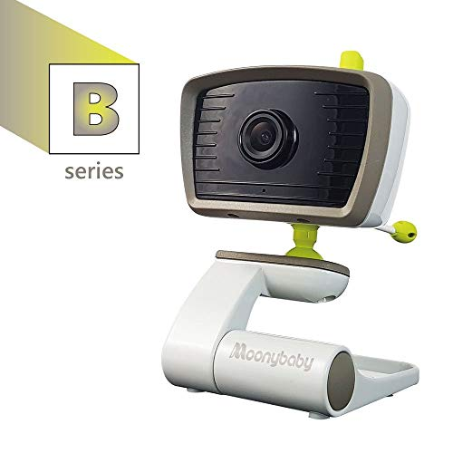 """MoonyBaby""""B"""" Series Add-On Camera Unit for Wide Angle Video Baby Monitor, This Model Supports Maximum 2 Cameras. (55935 BV, 55935 BV-2T)"""