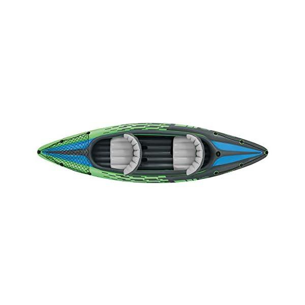 Intex Challenger K2 Schlauchboot - Aufblasbares Kajak - 351 X 76 X 38 cm - 3-teilig