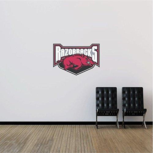 NCAA USA Slogan Logo College Sport Art Wall Decor Sticker 25