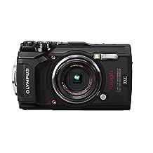 """Olympus TG-5 Waterproof Camera with 3"""" LCD, Black"""