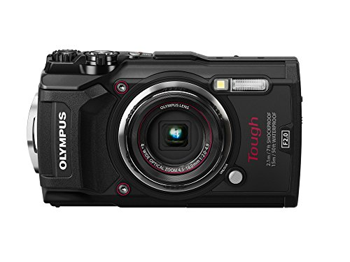 Olympus 12 Waterproof TG-5 with 3″ LCD, Black (V104190BU000)