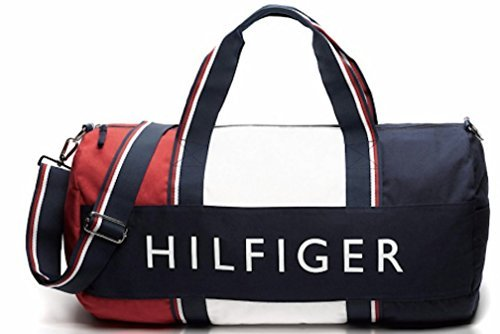 Tommy Hilfiger Big Patriot Duffle Bag - Navy / Red