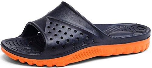 Sandals Shower Slide Slip Phefee Bathroom Lightweight Mens Anti Slipper Blue 5Egg0q