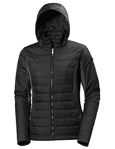 Helly Hansen Women's Astra Hooded Wind Resistant Jacket, Black, XS