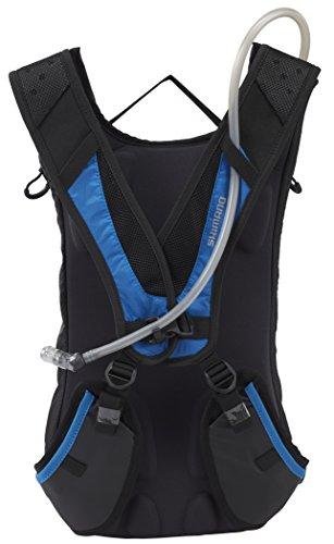 Shimano Unzen II Backpack 15 L black/lightning blue