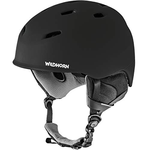 WildHorn Outfitters Drift Snowboard & Ski Helmet - US Ski Team Official Supplier - Performance & Safety w/Active Ventilation (Best Toddler Ski Helmet)