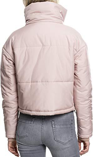 Jacket Ladies Neck High Chaqueta Urban Oversized Para 1075 Mujer Classics rose Rot wUXTHF