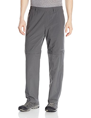 Columbia Men's Backcast Convertible Pants, Medium x Size 32, Grill by Columbia