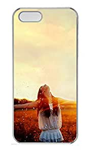 iPhone 5 5S Case Nature Relaxed Life PC Custom iPhone 5 5S Case Cover Transparent