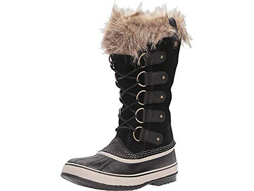 Sorel Women's Joan of Arctic Boot, Black, Stone, 9 M US ()