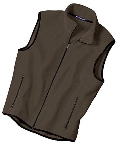 Jp79 Port (Port Authority Men's Polyester R-Tek Fleece Vest, XS,)