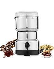 Laiashley Elektrische bonenmolen, draagbare graanmolen, multifunctionele hakmachine, commerciële poedermachine voor kruiden/specerijen/noten/korrels/koffiebonen
