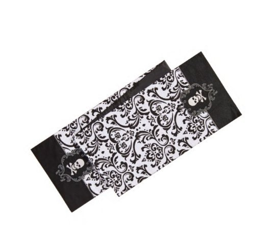 C&F Home 13.5x72 Inches Pirate, Halloween Table Runner, Skull ()