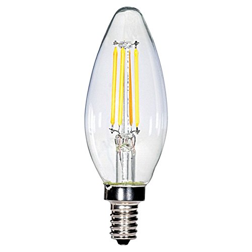 (パックof 24 ) Satco s8613、3.5 W CTC / LED / 27 K / CL / 120 V、LEDライト電球 B0747P2BTH