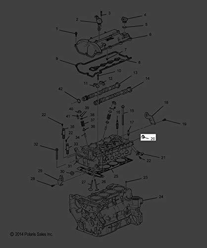 (Polaris 2015-2018 Slingshot Limited Edition Slingshot Plug Eng Blk Core Hole Gm 11588547 New Oem)