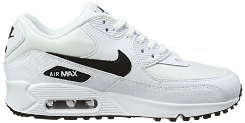 Max 131 Black White 90 Running Scarpe NIKE Bianco Air Donna qCw5ZR