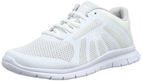 white Low Alpha Scarpe Shoe Bianco Running Cut 6 weiß Donna Champion Zwzgdqq