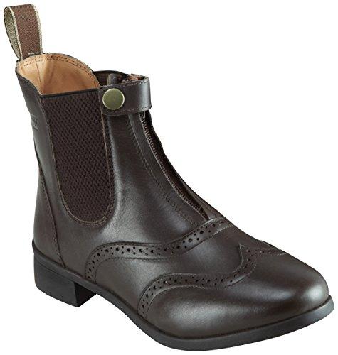 Harry Hall Women's EstonCity in Saskatchewan Canada Leder-Stiefel, braun Größe 3: