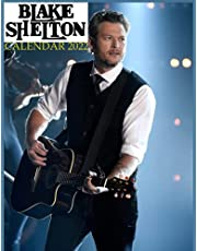 Blake shelton calendar 2022: monthly calendar with high quality photos, perfect gift for country music lover, large calendar 8.5X11 inch