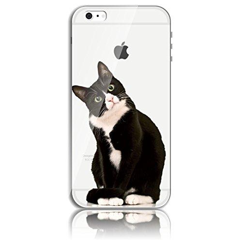 Transparente TPU Funda para iPhone 5s se 5 Silicona Gel Sunroyal® Resistente a los Arañazos en su Parte Trasera Flexible Bumper Case Cover [Anti-Gota] [Choque Absorción] Ultra Fina Protectora Alta Cal A-03