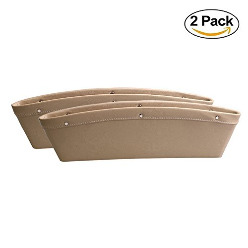 Car Seat PU Leather Console Gap Filler Side - Wireless Mouse Tray